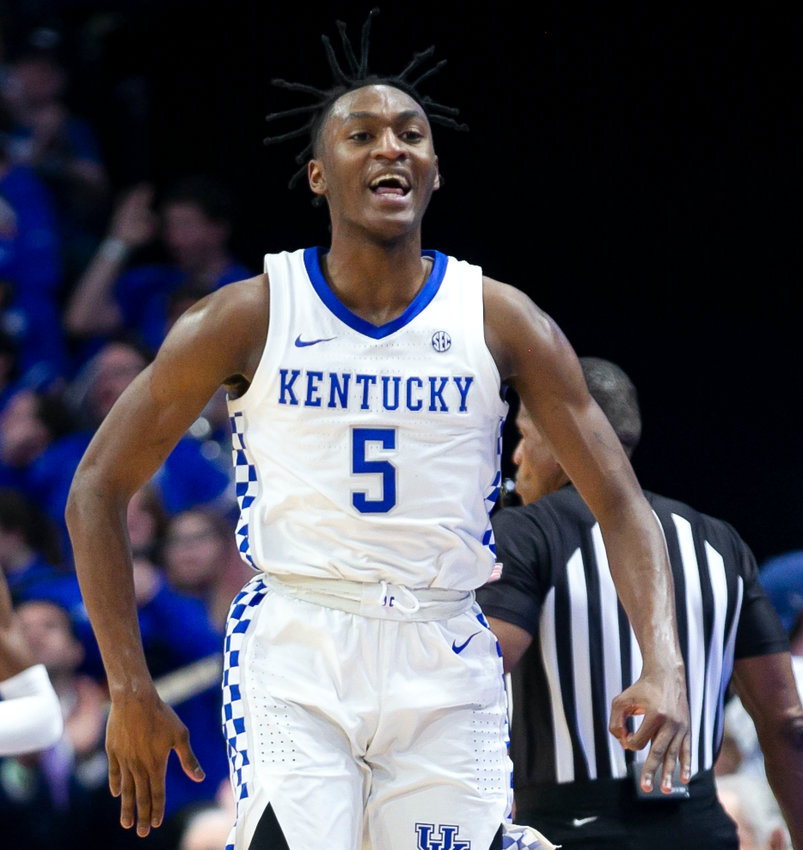 Immanuel Quickley scored 22 points in the second half to lead Kentucky to a 65-59 win over Florida Saturday night at Rupp Arena. (Kentucky Today/Tammie Brown)