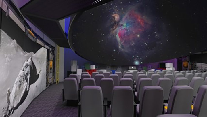 Visitors to the Creation Museum in Petersburg, Ky., will be able to enjoy a new planetarium, among other upgrades. The museum, along with the Ark Encounter in Williamstown, Ky., reopened Monday.