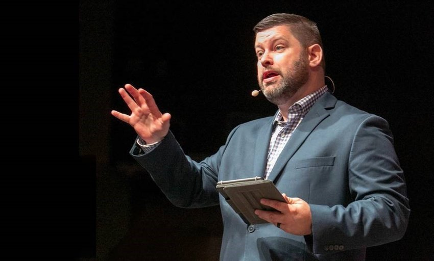 Dr. Travis Farris is the new pastor at First Baptist Church in Richmond. He started Nov. 1.