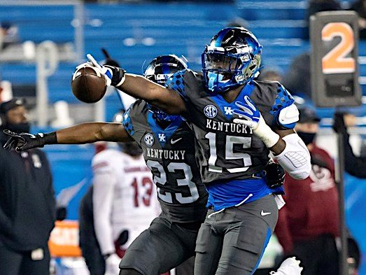 Kentucky defensive back Jordan Wright and the Wildcats will play N.C. State in the TaxSlayer Gator Bowl Saturday in Jacksonville. (SEC Photo)