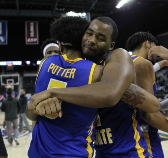 Morehead State defeated Belmont in the finals of the Ohio Valley Conference Tournament to earn a berth in the NCAA Tournament. (MSU Athletics Photo)