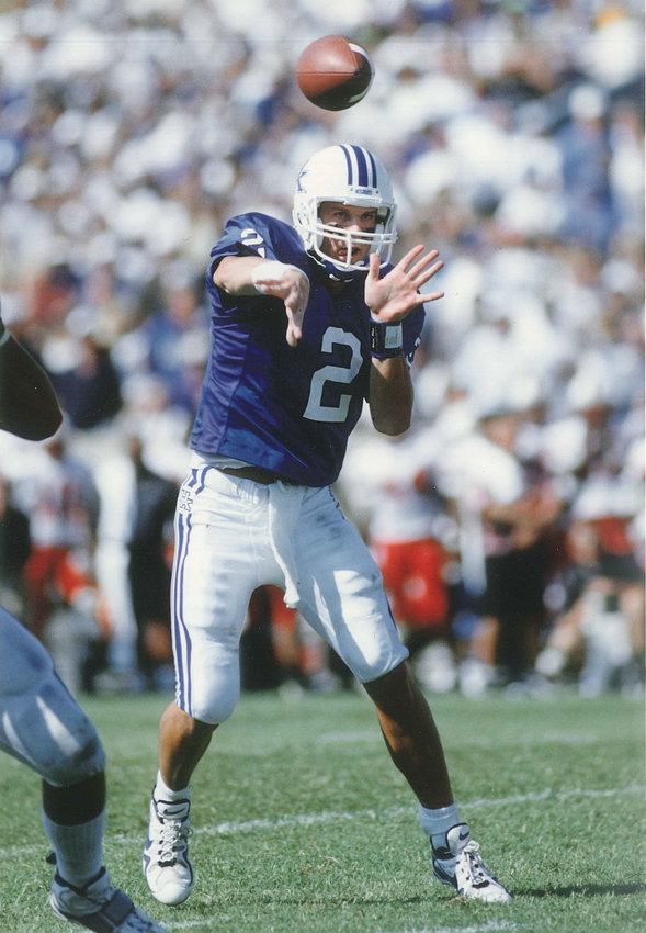 Former UK standout Tim Couch will be inducted into the NFHS Hall of Fame next month. (UK Athletics Photo)