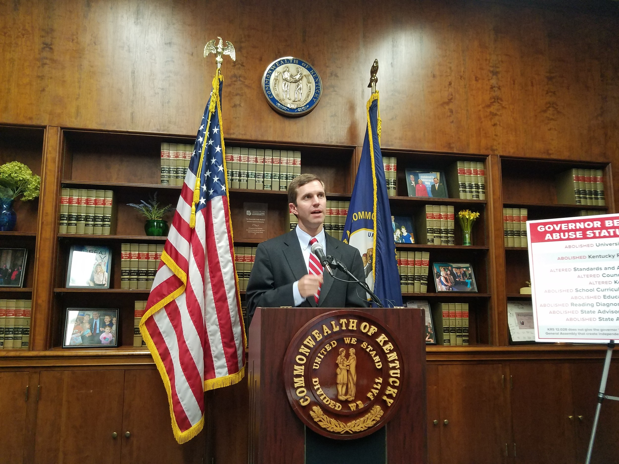 Beshear demands that Bevin rescind 'illegal' changes to education boards