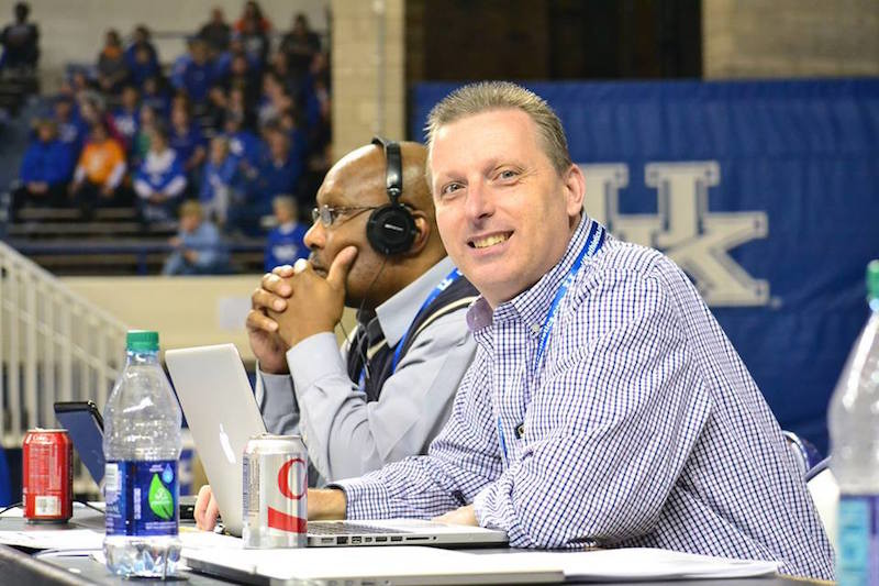 A premature baby, Keith Taylor has not only survived but thrived. He is the sports editor for Kentucky Today. Photo by Gary Moyers