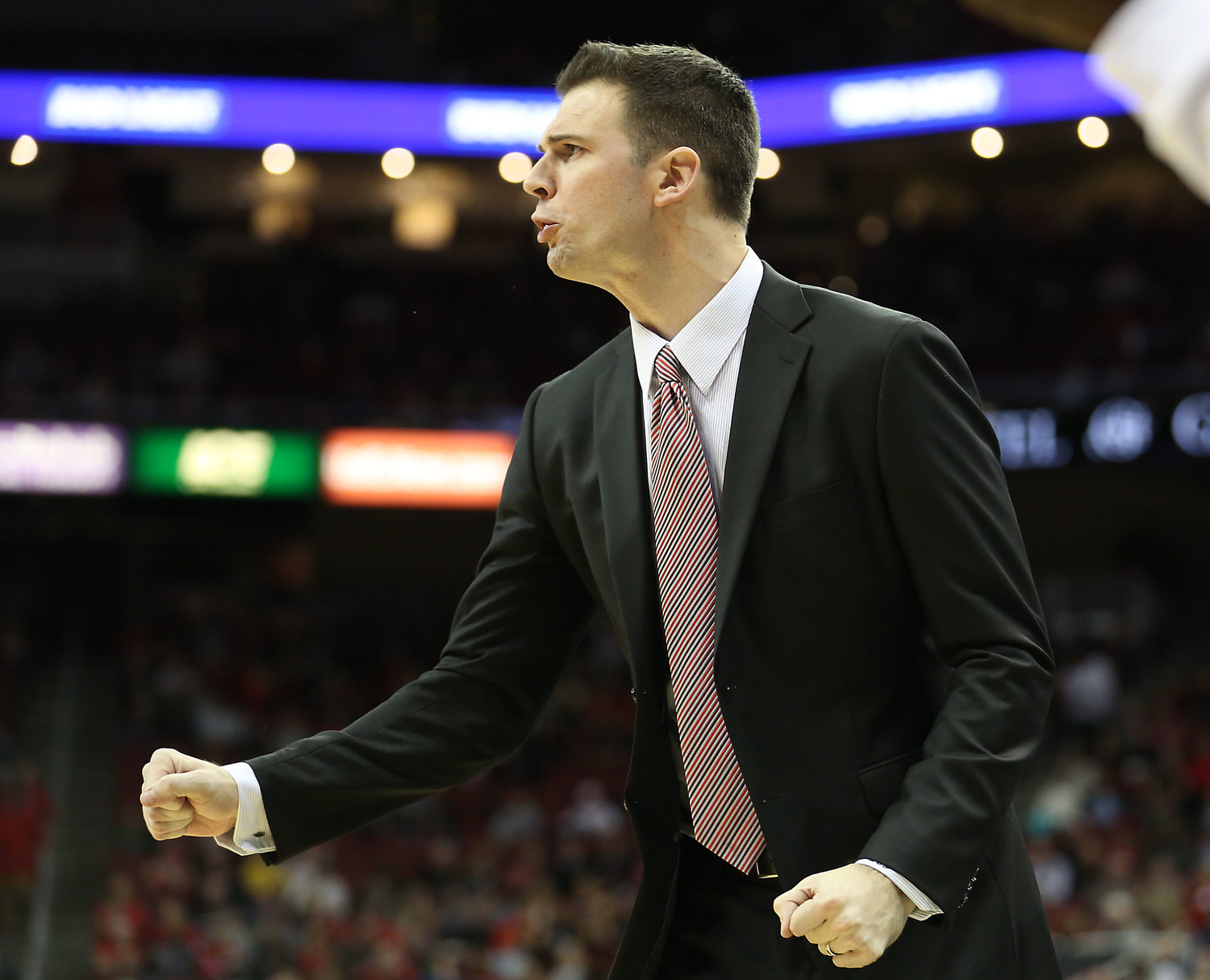 David Padgett left Louisville with the same class he displayed during a season with difficult circumstances.  (Kentucky Today/Robin Cornetet)