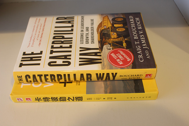 "Craig Bouchard's book ""The Caterpillar Way"" was a New York Times bestseller. (Kentucky Today/Mark Maynard)"