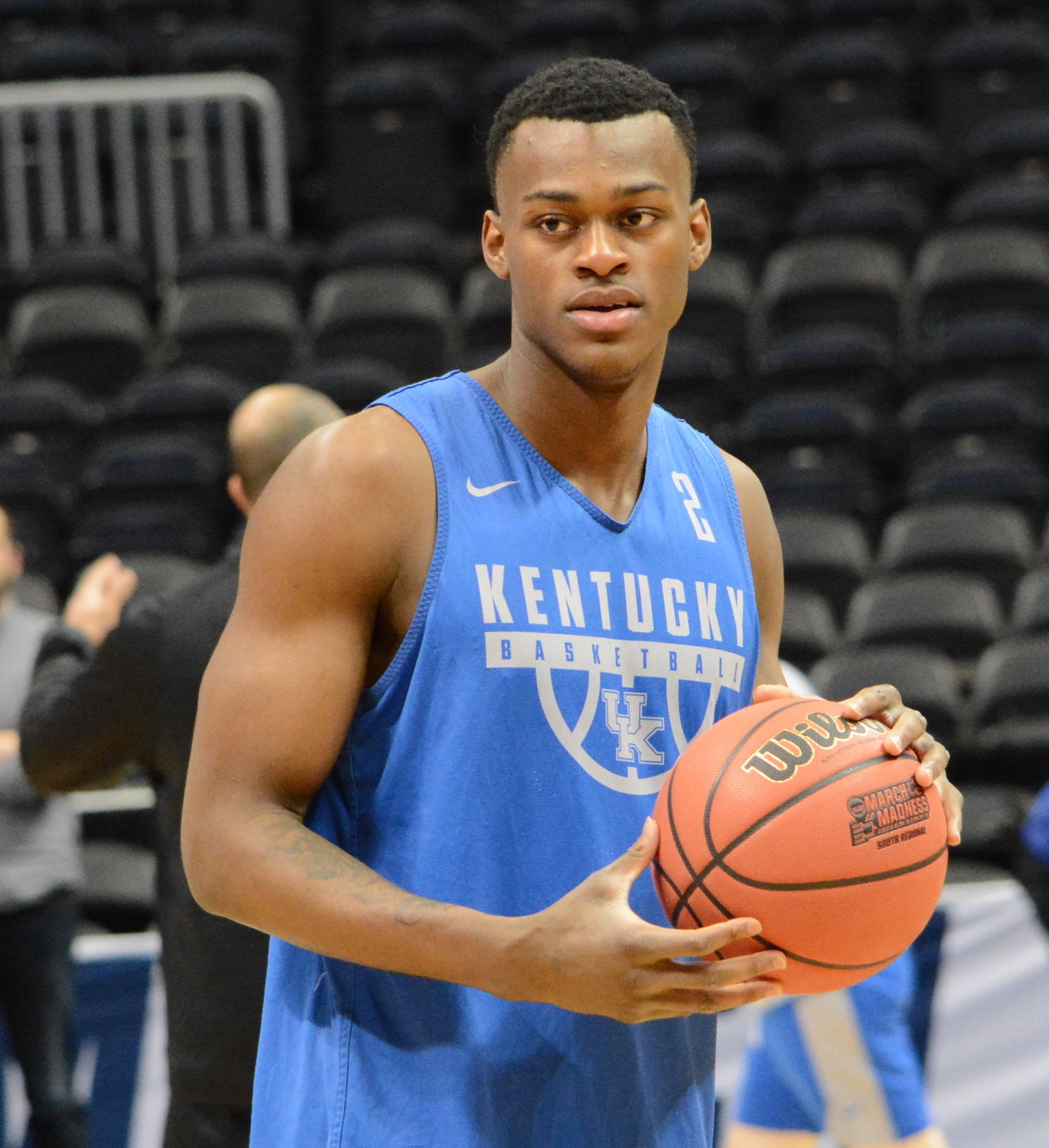 Kentucky freshman Jarred Vanderbilt has withdrawn from the NBA Combine and won't participate in the five-day event this week. (Kentucky Today/Keith Taylor)