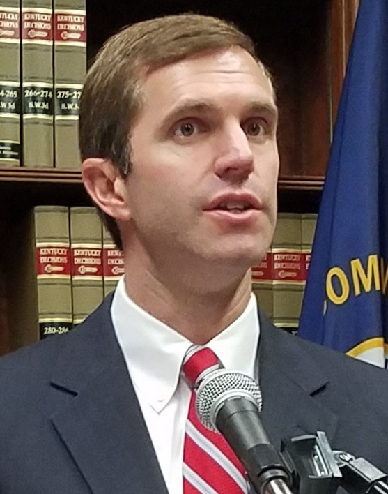 Attorney General Andy Beshear is fighting voter suppression.