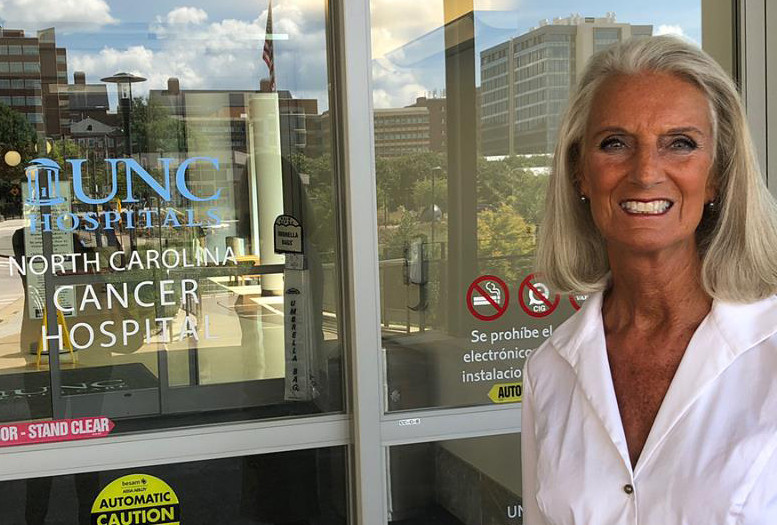 Ann Graham Lotz, daughter of the late evangelist Billy Graham, posted this photo on Facebook in disclosing that she has been diagnosed with breast cancer.