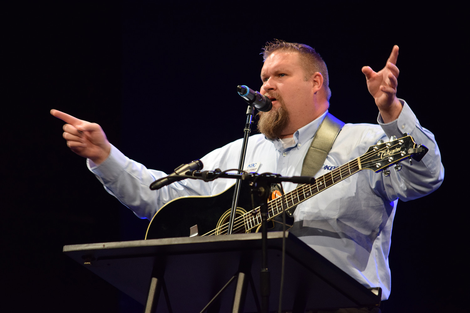 "Jason ""Bubba"" Stewart, the music consultant with the Kentucky Baptist Convention, has worked with worship leaders throughout the state during the coronavirus. (Kentucky Today file photo)"