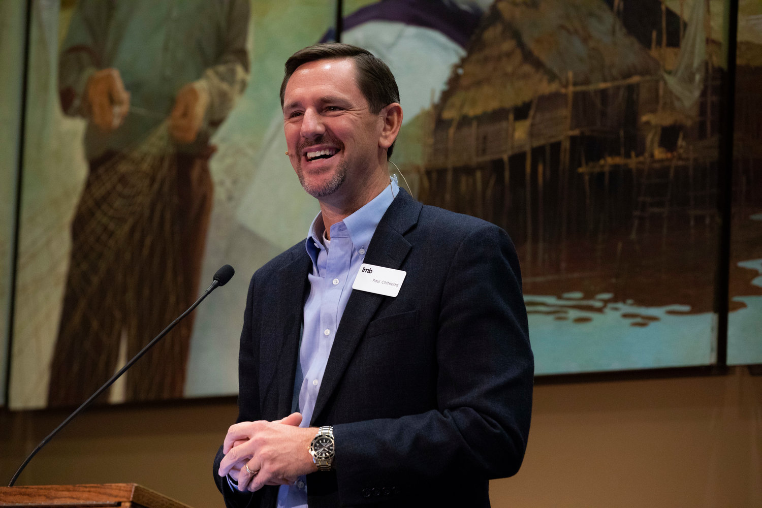 The public is invited to celebrate the installation of Paul Chitwood as the new International Mission Board president on Feb. 6 at 6:30 p.m. at Grove Avenue Baptist Church in Richmond, Va., or by Livestream. (IMB photo)