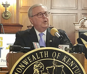 Chief Justice John Minton has ordered biennial audits for the Administrative Office of the Courts beginning in 2020. (Kentucky Today/Tom Latek)