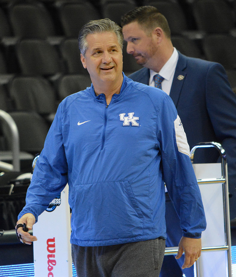 Kentucky coach John Calipari will host nine and possibly 10 satellite camps next month.  (Kentucky Today/Keith Taylor)