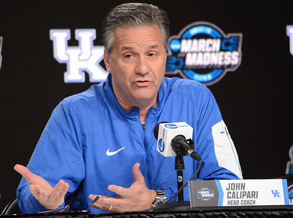 Kentucky coach John Calipari is urging Kentuckians to wear a mask as the fight against COVID-19 continues across the state and in the nation. (Kentucky Today/Keith Taylor)