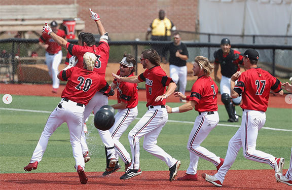 Cards Bounce Back Take Regional Title Host Super Regional Next