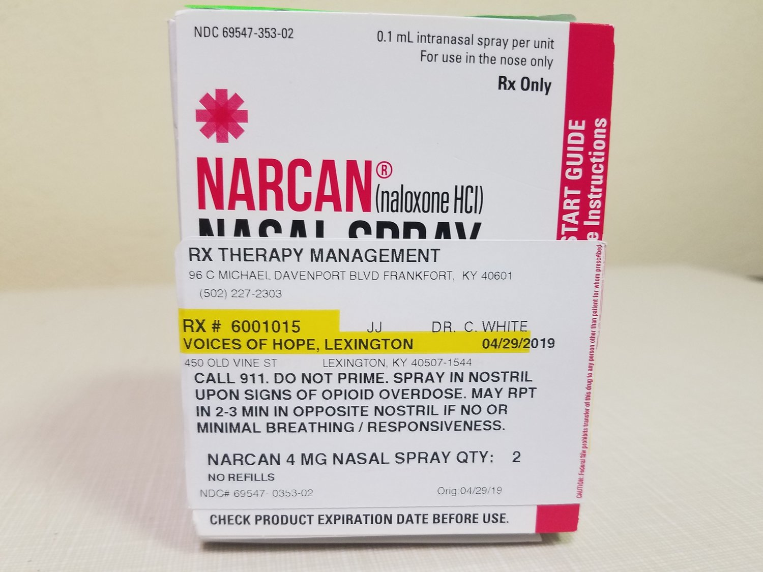 Anyone can learn how to give life-saving doses of NARCAN..