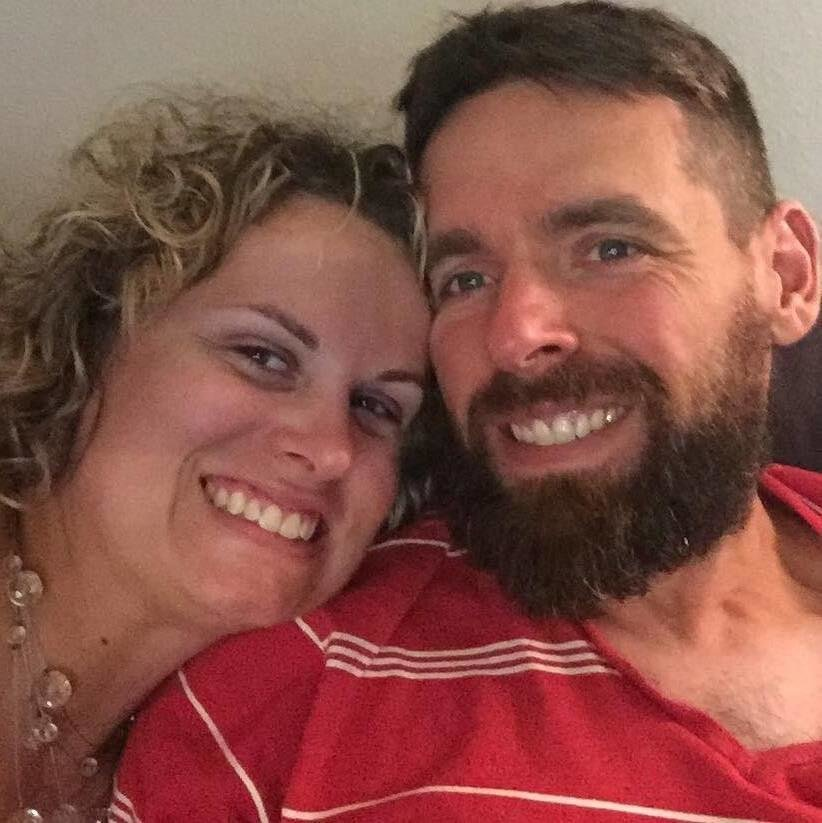 Franklin County High School teacher Adam Hyatt, shown here with wife Kari, was killed Sunday in an accident in Tennessee.