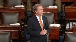 Sen. Rand Paul objected to a request by Sen. Kirsten Gillibrand, D-N.Y., to approve the bill by unanimous consent.