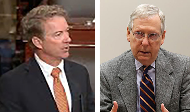 Mcconnell Paul Both At Home On Mend Kentucky Today