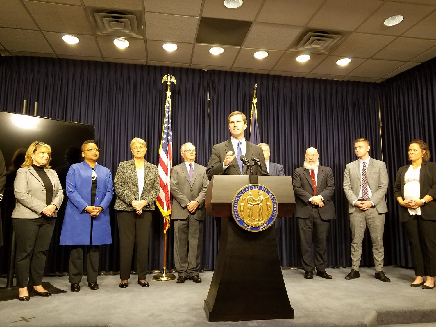 Beshear appoints 10 more 'all-stars' to his administration ...