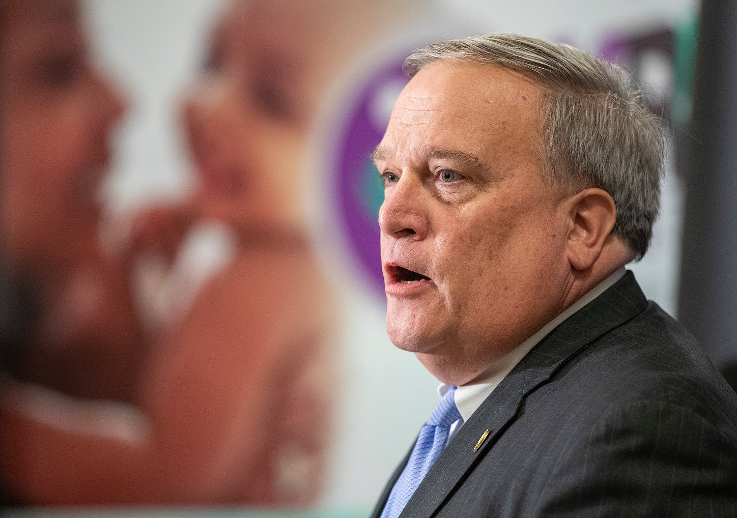 State Senate President Robert Stivers is part of a bipartisan effort to give a boost to neighborhoods in the West End of Louisville. (Robin Cornetet/Kentucky Today)