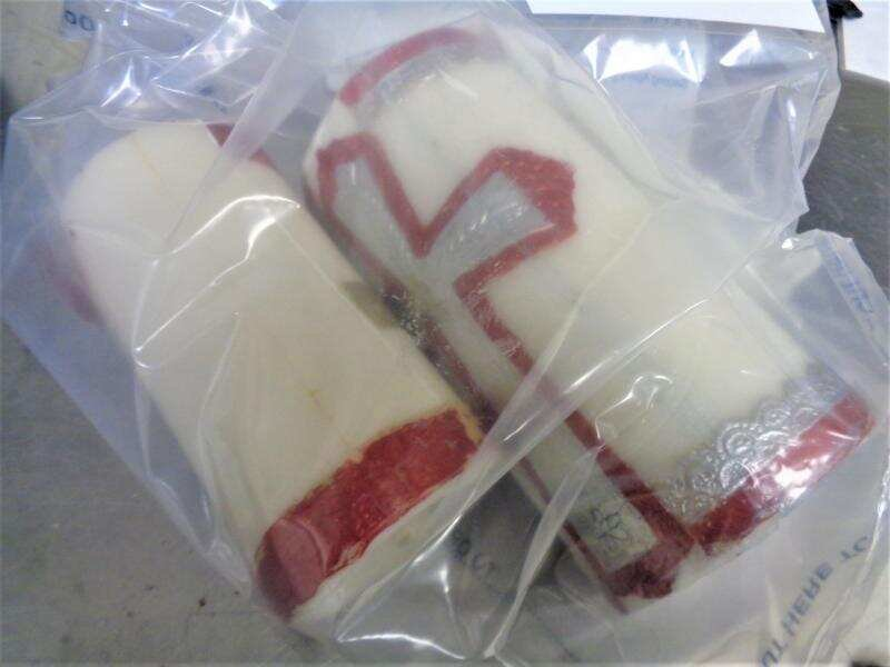 Meth packaged inside these candles was seized by the U.S. Customs recently. (Customs photo)