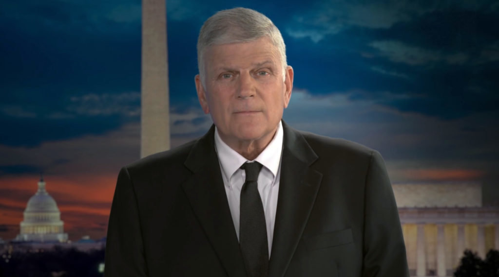 Franklin Graham has scheduled a prayer march in Washington for Sept. 26. (Baptist Press photo)