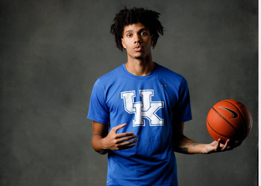 Kentucky redshirt freshman Dontaie Allen is finally healthy and looking forward to returning to the court this season. (UK Athletics Photo).