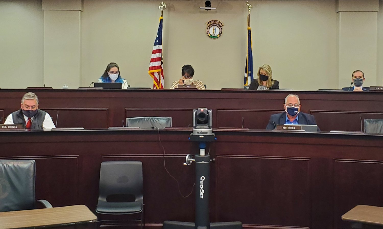 Lawmakers on the education committee heard via Zoom from three Kentucky school superintendents about how they have dealt with the coronavirus. (Kentucky Today/Tom Latek)