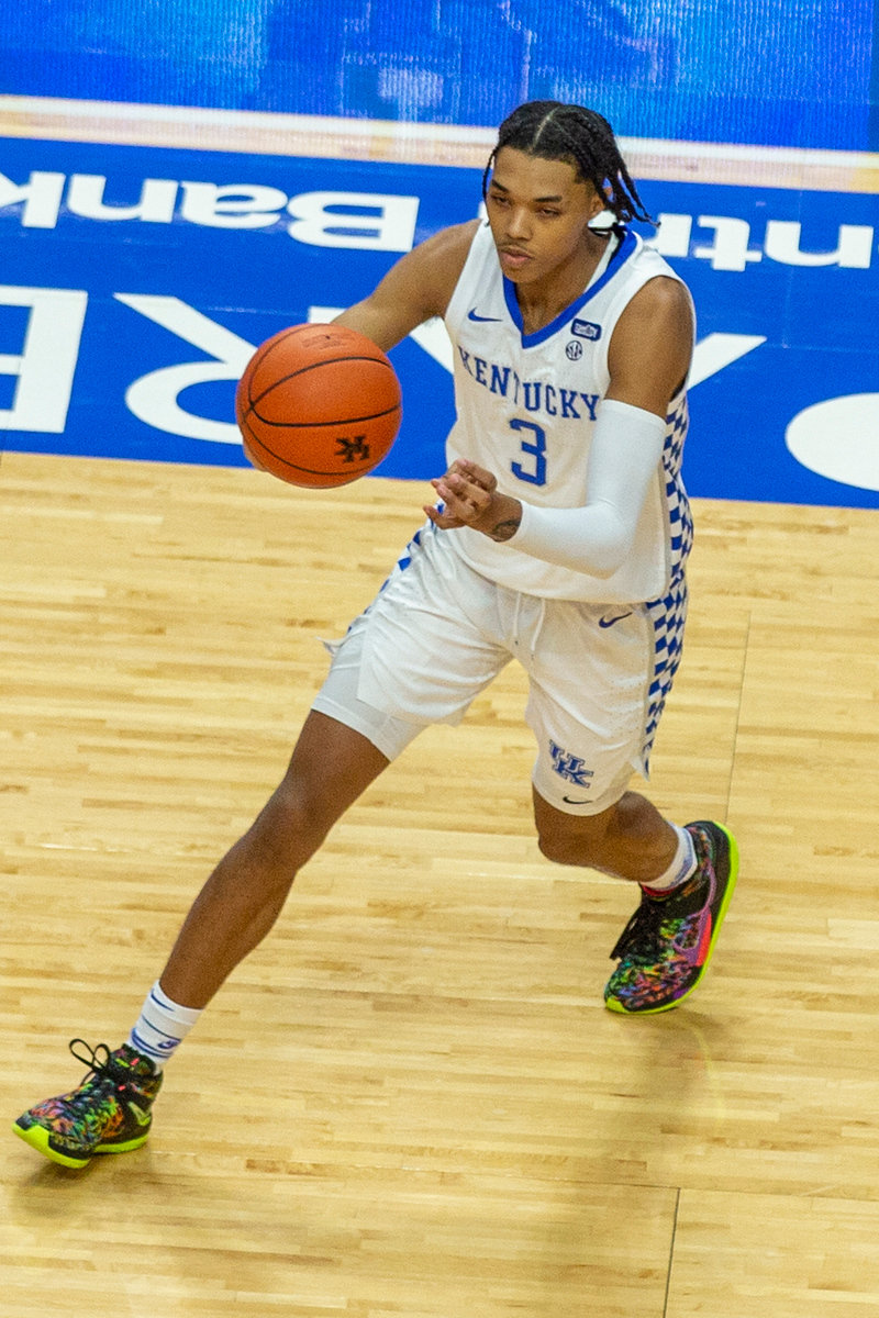 B.J. Boston scored 20 against Richmond on Sunday, Nov. 29, 2020 in Lexington, Ky. (Kentucky Today/Tammie Brown)