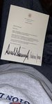 A letter and birthday wish from President Trump