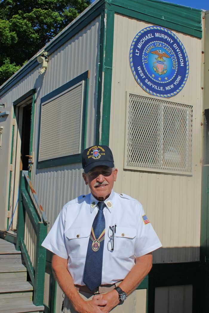 Gary Vertichio, commanding officer and founder of LT Michael Murphy Division US Naval Sea Cadets Corps.