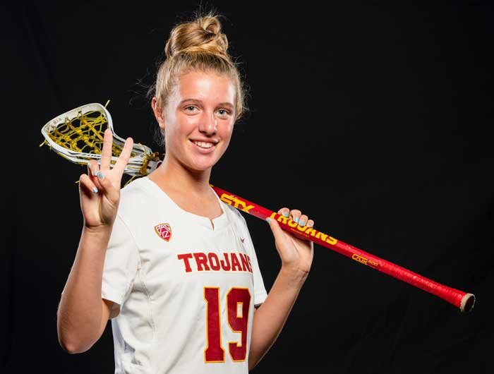BBP junior Alexis Niblock was selected to the national U15 lacrosse team and played in the Fall Classic in Maryland against their Canadian counterparts.