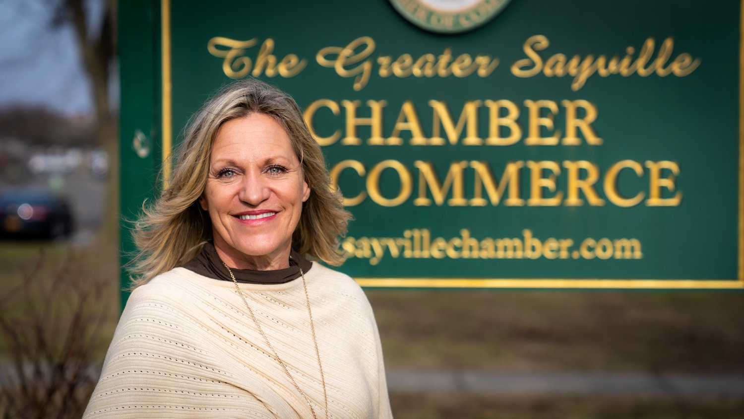 Eileen Tyznar proudly holds her position as president of the Greater Sayville Chamber of Commerce and is a force of elevation in the community as 2019's Inspiration Award winner.