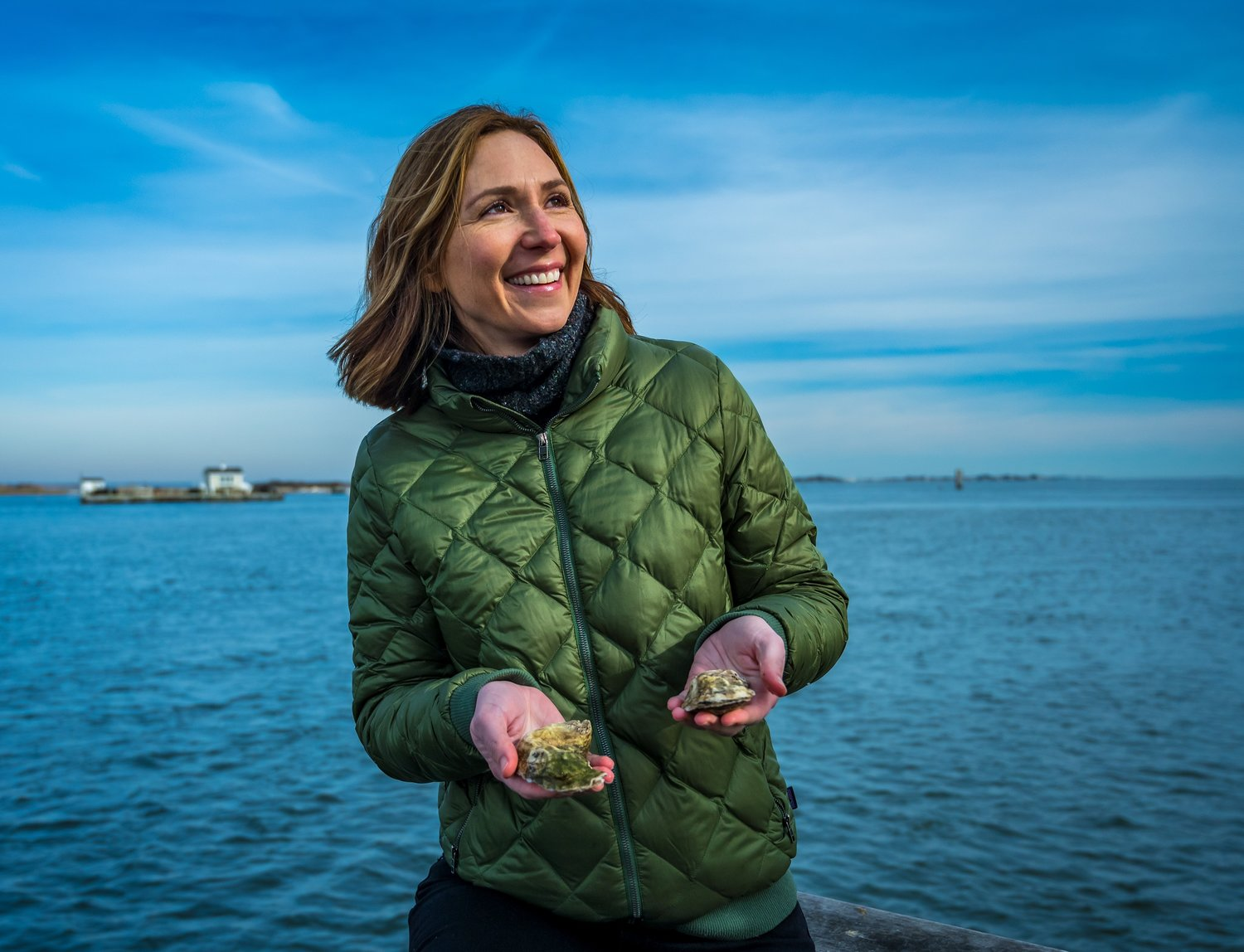 Aileen Ruddy, was granted a lease from the town of Islip to grow oysters.