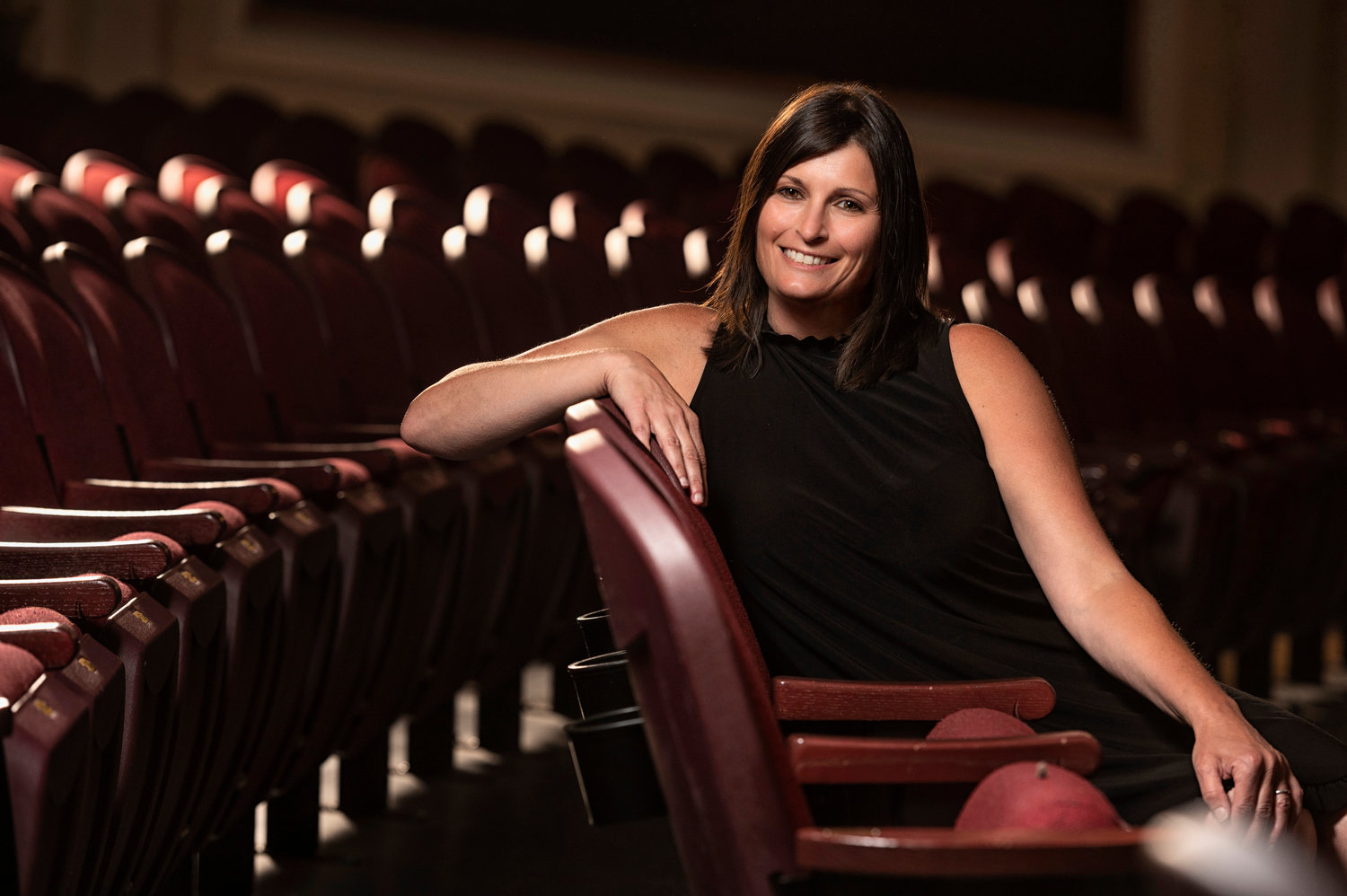 Michele Rizzo-Berg is Patchogue Theatre for the Performing Arts' new director.