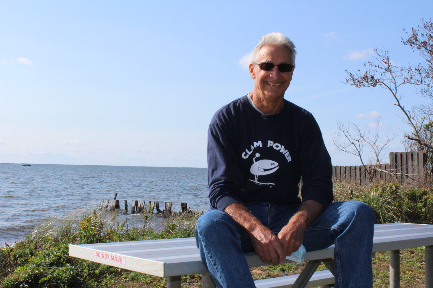 Steve Kuhn of Sayville has written a book about his experiences as a bayman for over 50 years. His clamming area spans Patchogue to Babylon.