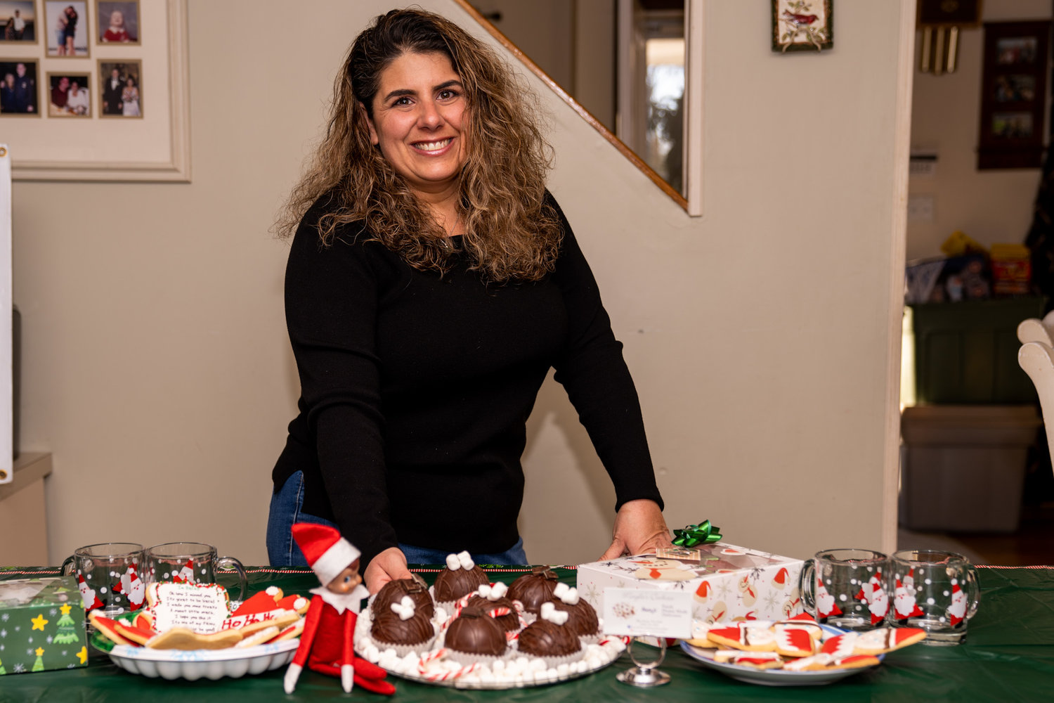 Popular home baker Meryle Alden had to cancel her much-sought-after cookie platters for the holiday season due to overcrowding concerns with the pandemic, but has found a new Christmastime tradition with hot cocoa bombs and DIY cookie-decorating kits.