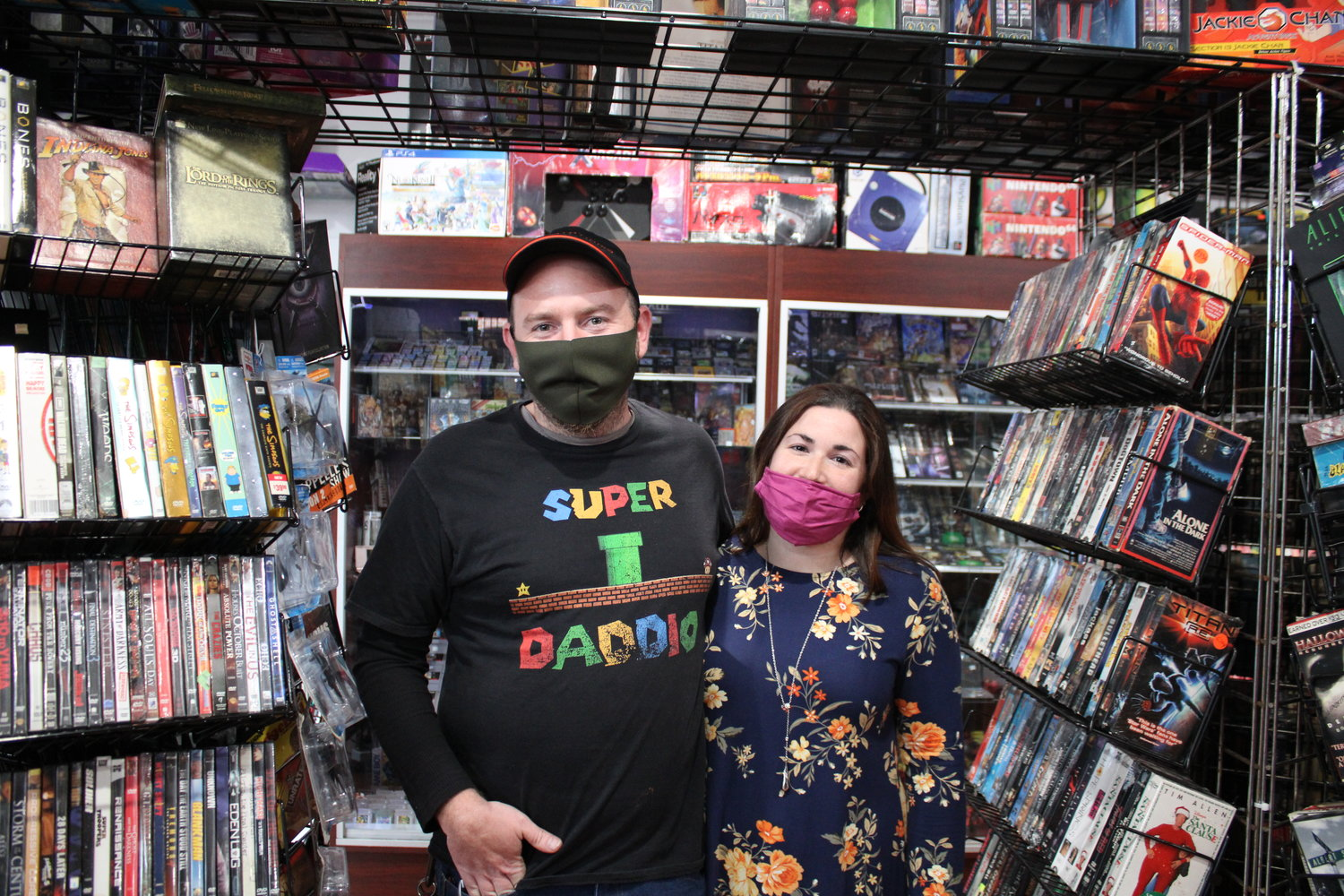Richard and Christina McWilliams of Islip opened Blast From The Past on 125 West Main Street in Bay Shore last week. The shop will host a grand opening Dec. 11.