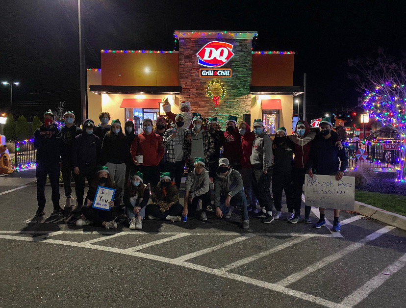 They also organized a fundraiser outside Dairy Queen in Medford.