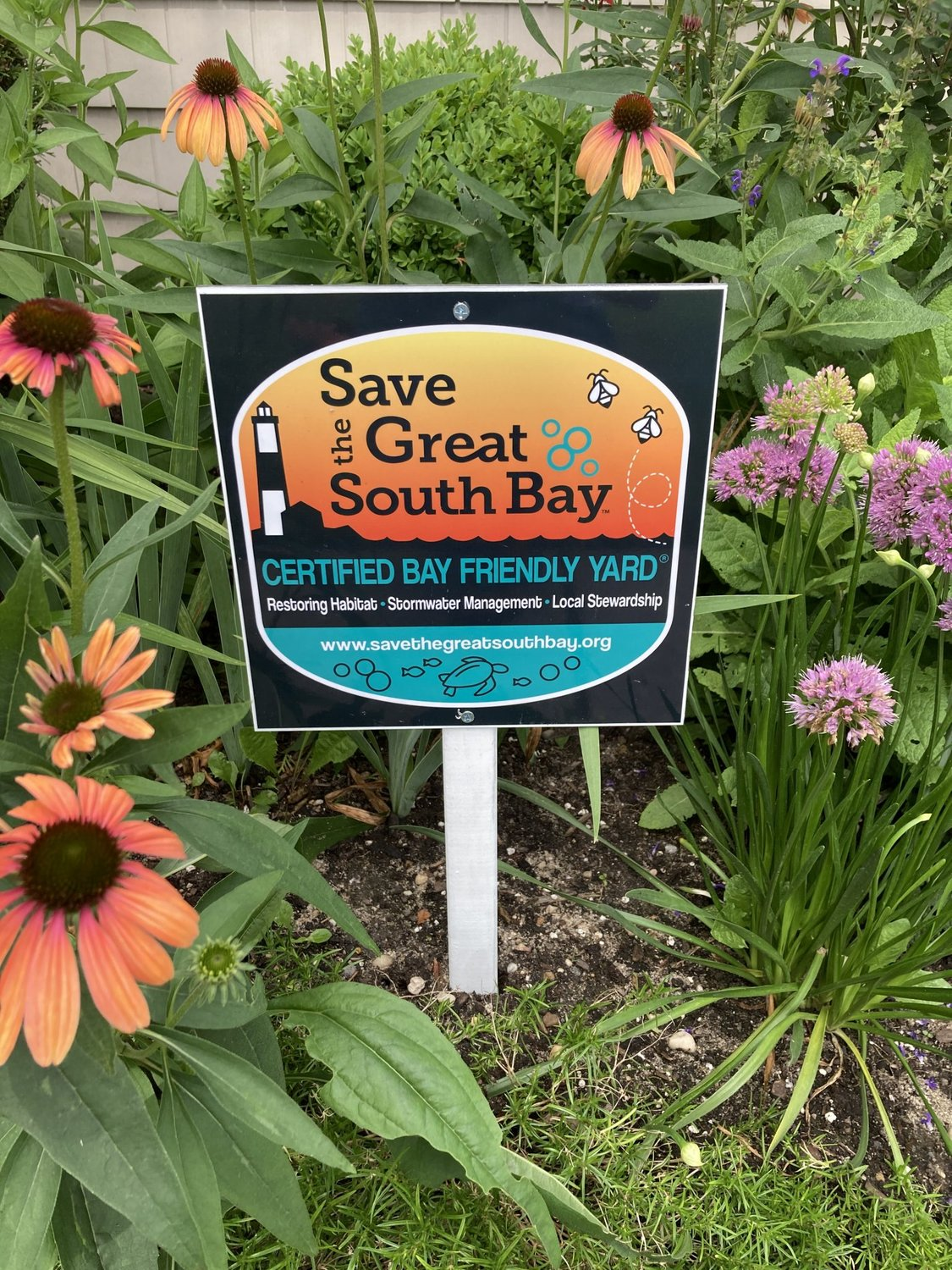 Three steps to a bay-friendly yard include managing stormwater, becoming a steward of your land and restoring habitats.