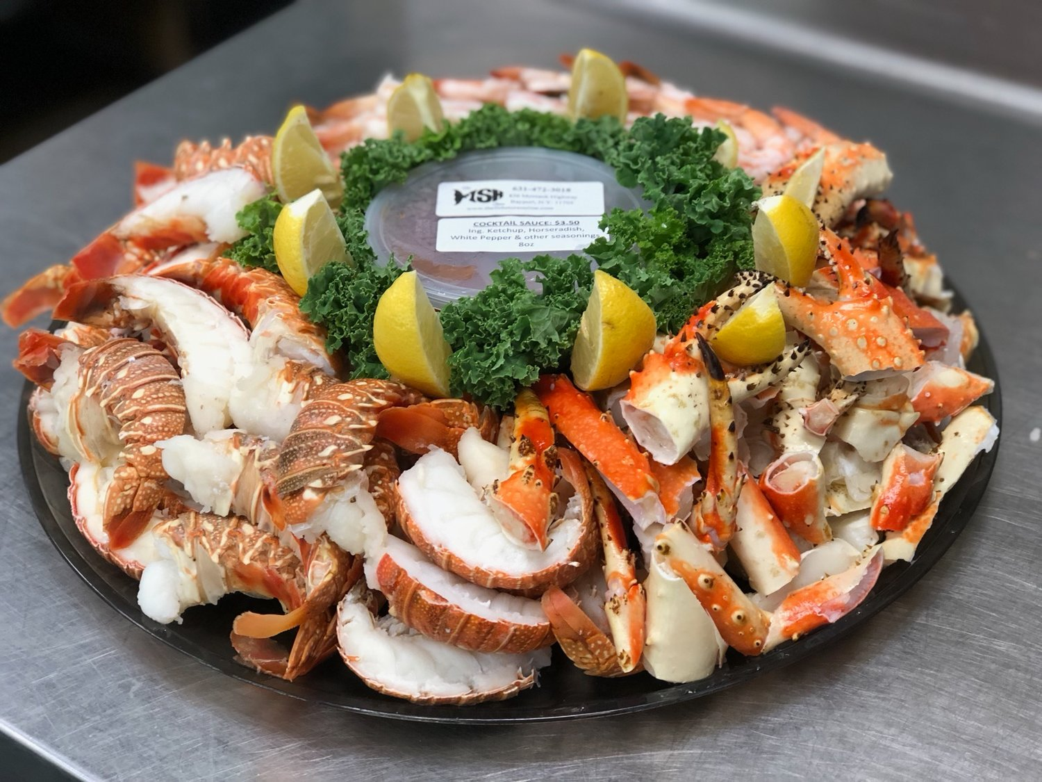 Grab seafood and wings from the Fish Store this year.