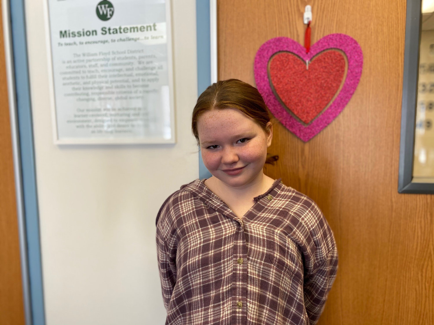 Caitlyn Michiels, fifth-grader at Moriches Elementary School in the William Floyd School District.
