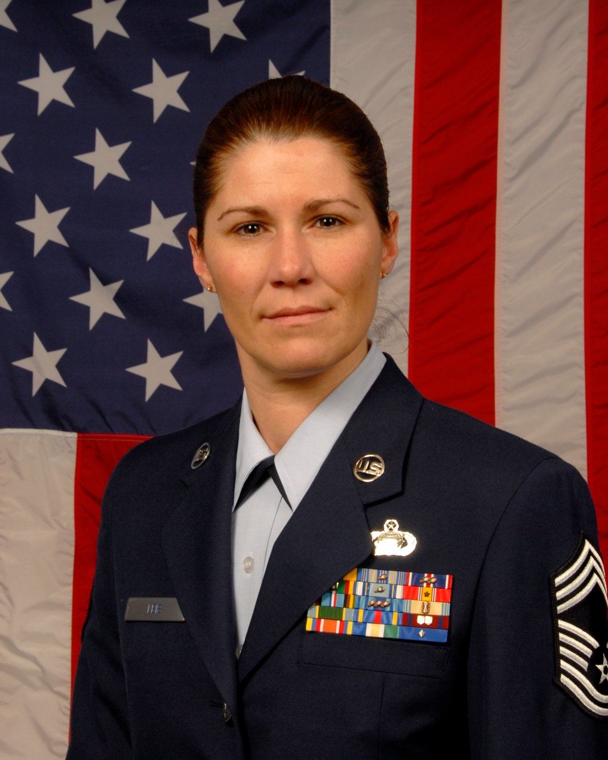 Chief Master Sgt. Marcelle Leis enlisted in the United States Air Force and New York Air National Guard in 1989.