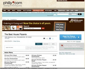 :hilly.com's online ordering service, as powered by Allmenus.com.