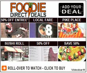 Example of a Foodie Deal Videobar