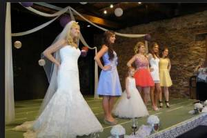 Scenes from a six figure bridal expo...