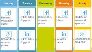 Use these content types to add to the posting schedule - for your agency's B2B customers, not just consumer audiences.