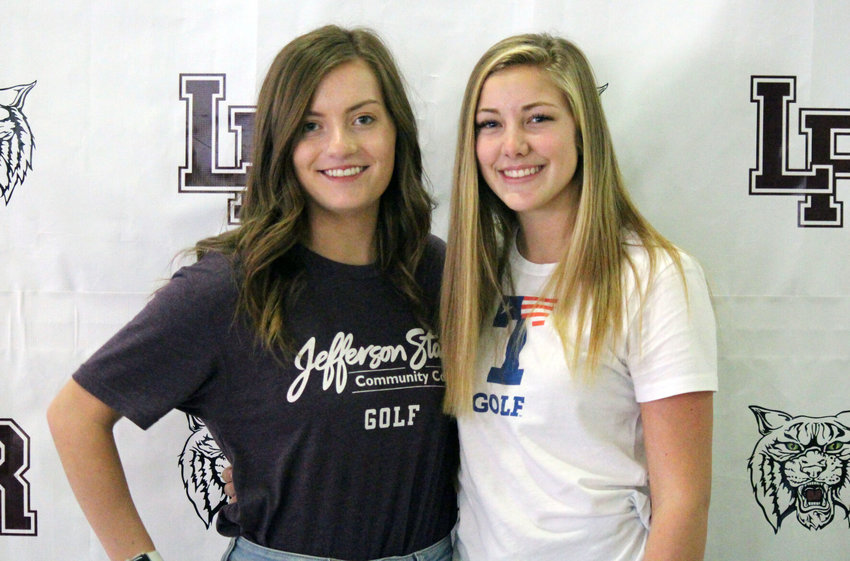 The duo of Carlie Aultman (Jefferson State Community College) and Brooke Wagner (UT-Tyler) helped make Logan-Rogersville girls golf a state contender in recent seasons. The two made their college commitments official on Nov. 12.