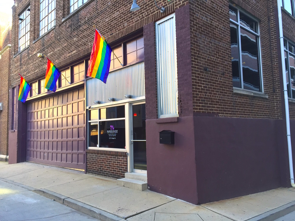 The Bradbury-Sullivan LGBT Community Center is located at 522 West Maple Street, Allentown, PA.